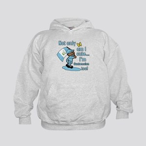Not only am I cute I'm Guatemalan! Kids Hoodie