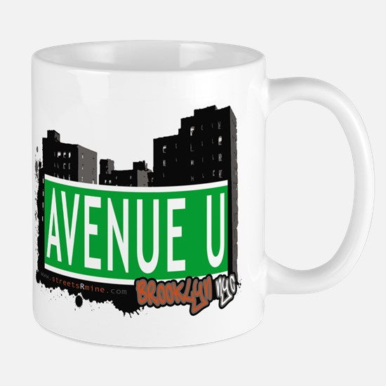 AVENUE U, BROOKLYN, NYC Mug