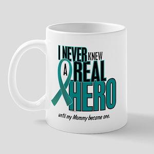 Never Knew A Hero 2 Teal (Mommy) Mug