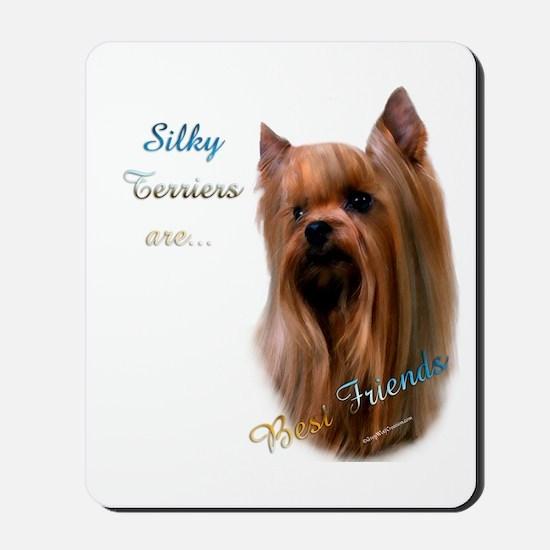 Silky Best Friend 1 Mousepad