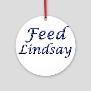 Feed Lindsay 5 Keepsake (Round)