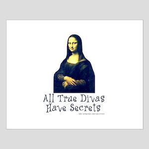 Mona's Secrets Small Poster