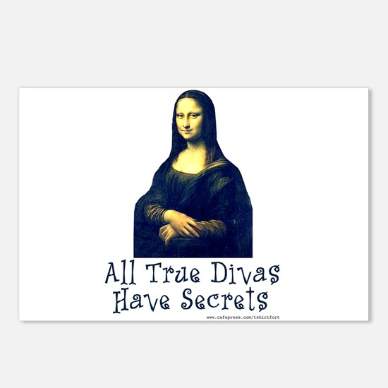 Mona's Secrets Postcards (Package of 8)