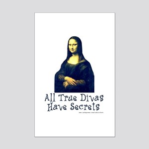 Mona's Secrets Mini Poster Print
