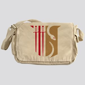Theta Chi Badge Messenger Bag