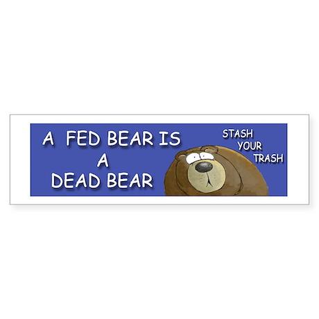BEAR Sticker (Bumper)