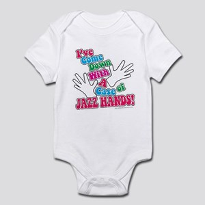 Jazz Hands! Infant Bodysuit