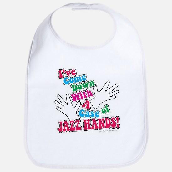 Jazz Hands! Bib