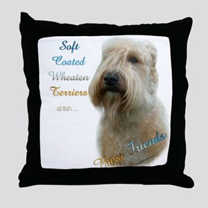Wheaten Best Friend 1 Throw Pillow