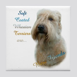 Wheaten Best Friend 1 Tile Coaster