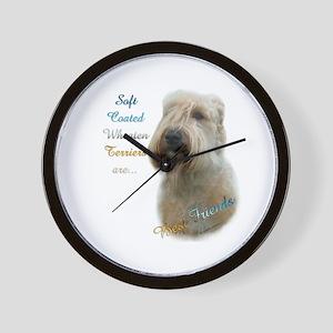 Wheaten Best Friend 1 Wall Clock