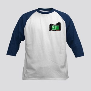 91st STREET, BROOKLYN, NYC Kids Baseball Jersey