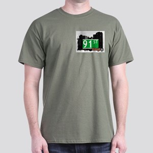 91st STREET, BROOKLYN, NYC Dark T-Shirt