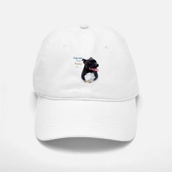 Staffy Best Friend 1 Baseball Baseball Cap