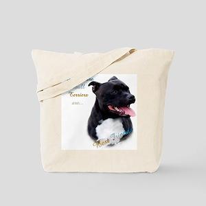 Staffy Best Friend 1 Tote Bag