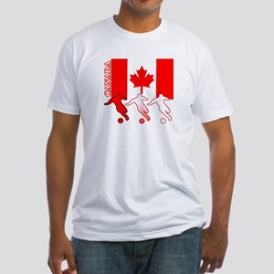 Canada Soccer Fitted T-Shirt
