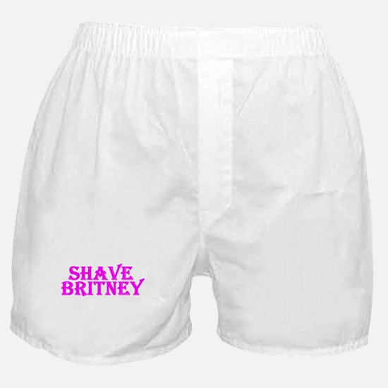 Shave Britney Boxer Shorts