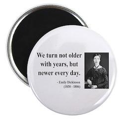 Emily Dickinson 15 Magnet