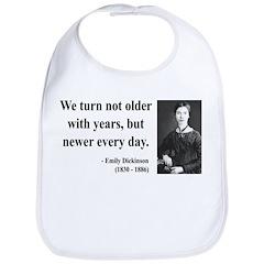 Emily Dickinson 15 Bib