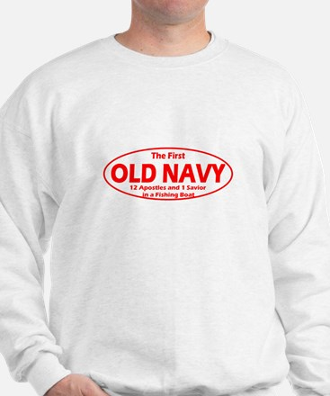 The First Old Navy Sweatshirt