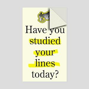Study Lines Sticker (Single)