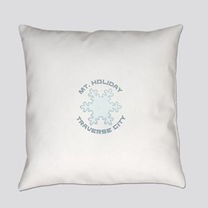 Mt. Holiday - Traverse City - Mi Everyday Pillow