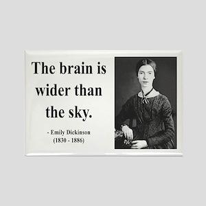 Emily Dickinson 14 Rectangle Magnet