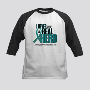 Never Knew A Hero 2 Teal (Best Friend) Kids Baseba