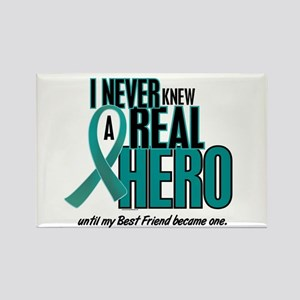 Never Knew A Hero 2 Teal (Best Friend) Rectangle M