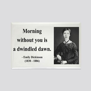 Emily Dickinson 13 Rectangle Magnet