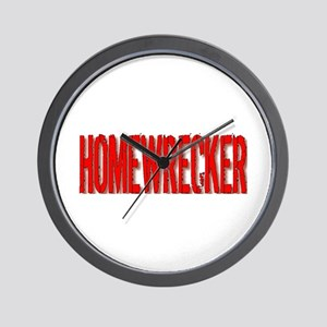 Homewrecker Wall Clock
