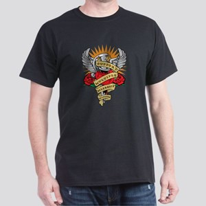 MS Heart & Dagger Dark T-Shirt