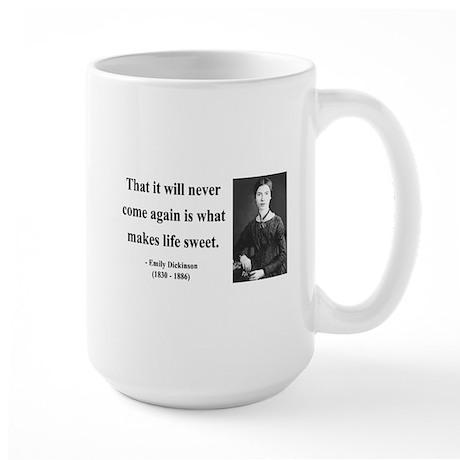 Emily Dickinson 12 Large Mug