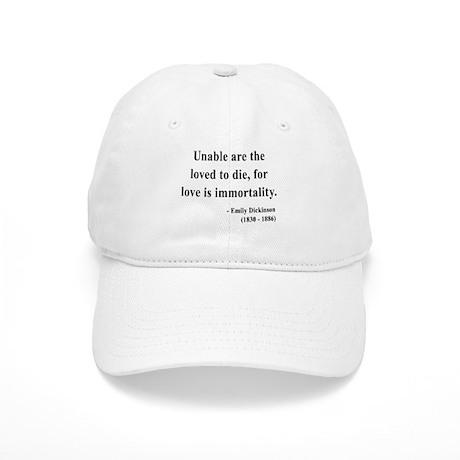 Emily Dickinson 11 Cap