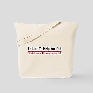 I like to help you out Tote Bag