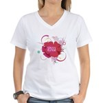 Savvy Auntie V-Neck T-Shirt