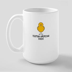 Filipina American Large Mug
