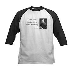 Emily Dickinson 11 Kids Baseball Jersey