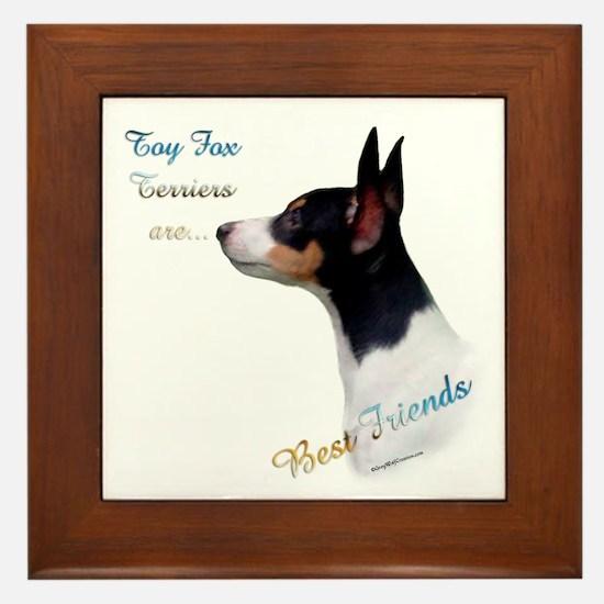 Toy Fox Best Friend 1 Framed Tile