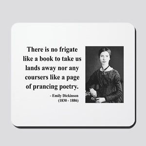 Emily Dickinson 10 Mousepad