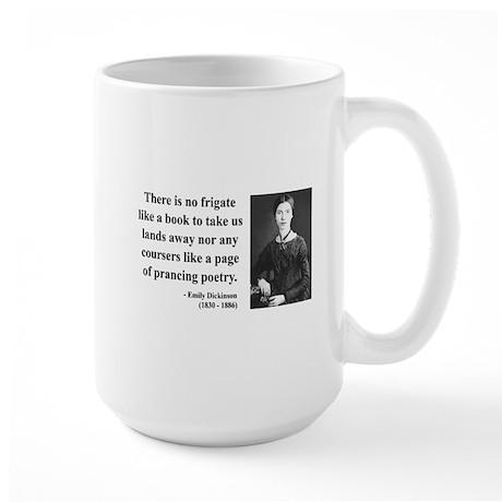 Emily Dickinson 10 Large Mug