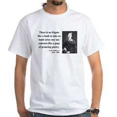 Emily Dickinson 10 White T-Shirt
