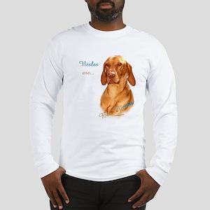 Vizsla Best Friend 1 Long Sleeve T-Shirt