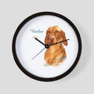 Vizsla Best Friend 1 Wall Clock