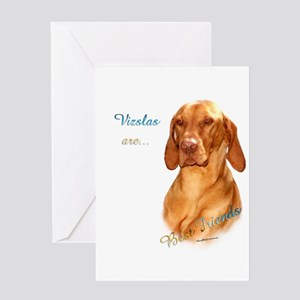 Vizsla Best Friend 1 Greeting Card