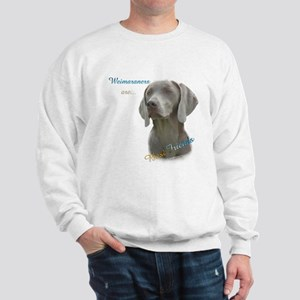 Weimaraner Best Friend 1 Sweatshirt