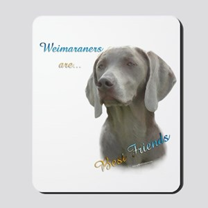 Weimaraner Best Friend 1 Mousepad