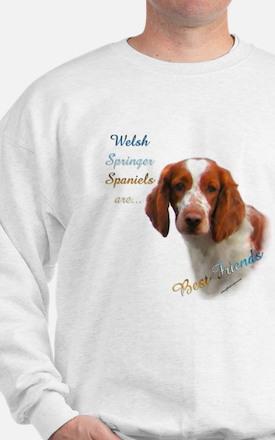 Welsh Springer Best Friend 1 Sweatshirt