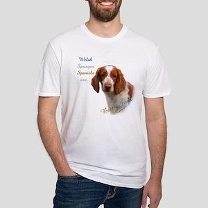 Welsh Springer Best Friend 1 Fitted T-Shirt