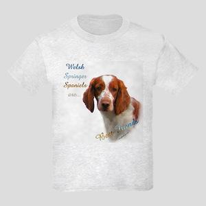 Welsh Springer Best Friend 1 Kids Light T-Shirt